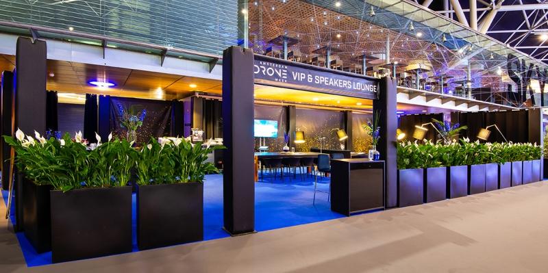 Amsterdam Drone week - foto 1 - VIP en Speakers Lounge