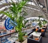 Aquatech 2011 - Foto 10 - VIP Lounge met groendecoratie