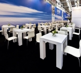 BedrijfsAutoRAI 2012 - Foto 4 - White wash tafel met 4 poten - DAF stand