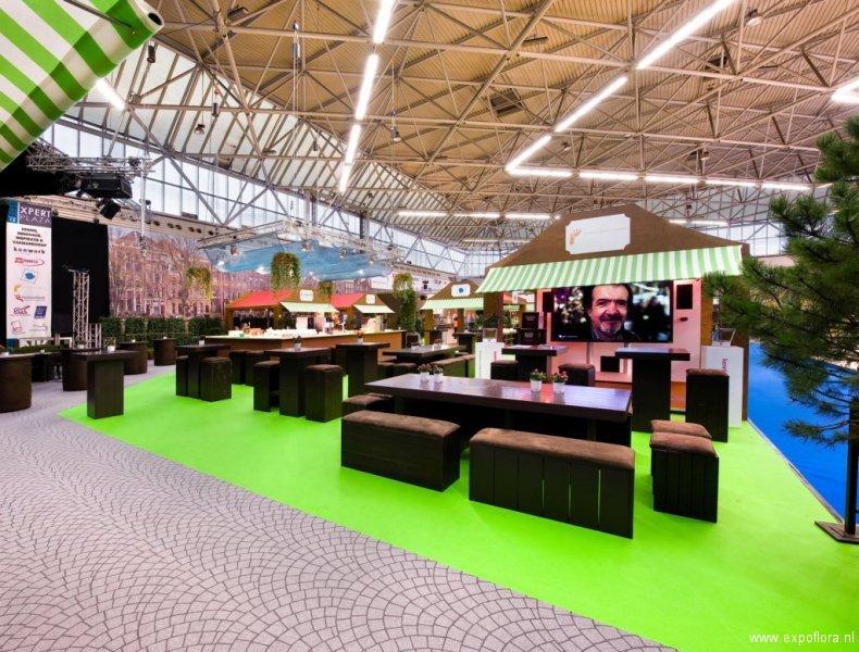 Horecava 2012 - Foto 7 - Expert Plaza met Pure Chocolate meubilair