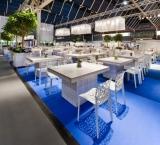 HuisartsBeurs 2012 - Foto 4 - White wash terras met coral stoel