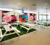 Huishoudbeurs 2013 - Foto 2 - Europa Foyer met kleurrijke Expo Walls
