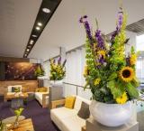 IBC 2018 - foto 7 - VIP Lounge kolomdecoratie