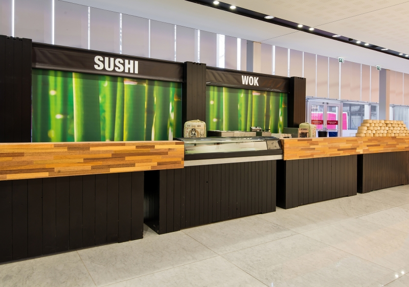 ISE 2017 - Foto 9 - Sushi/Wok terras & Bar