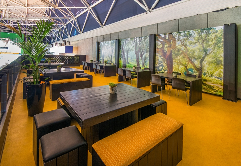 ISE 2018 - Foto 1 - Delta Cafe terras (boven)