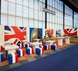 Mets 2012 - Foto 1 - Engels terras met thema Expo Walls