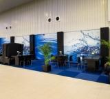 Mets 2012 - Foto 5 - Lounge met zwart meubilair