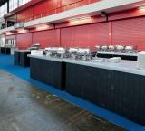 Microsoft TechEd 2012 - Foto 2 - Black wash buffettafel met zinken blad