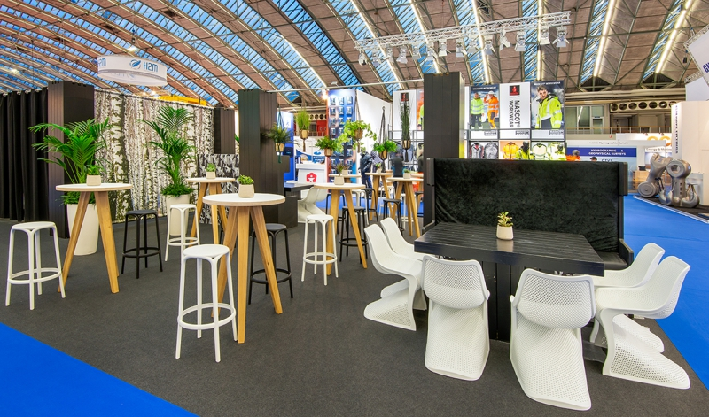 Offshore Energy 2018 - foto 4 - Bar area hal 1